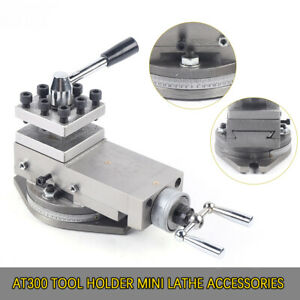 New 1 at300 Lathe Tool Post Assembly Holder Mini Lathe Accessories Metal Change