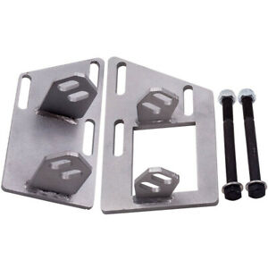 Quality Steel Engine Swap Mounts Brackets Kit For Chevrolet Blazer S10 V8