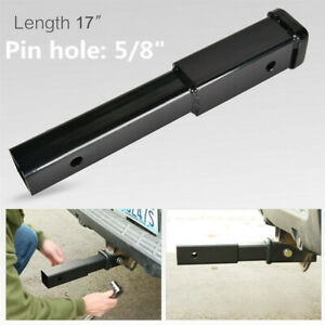 8in Trailer Hitch Extension For 2in Receiver Extender 5 8 In Pin Hole Towing