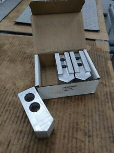 Us Shop Tools H3 8200ap 3 piece Lathe Aluminum Soft Jaws 3 Of 4