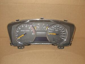 2008 2009 2010 2011 2012 Chevy Colorado Gmc Canyon Truck Speedometer Cluster 62k