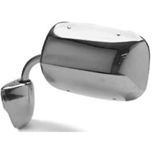 New Replacement Chrome Driver Side Door Mirror Driver Passenger 128 01245l