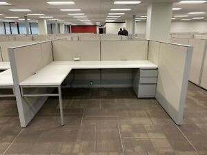 Lot Of 80 Cubicles 2017 Haworth Compose A Condition