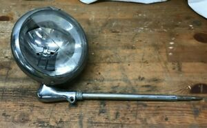 Vintage Car Spotlight Unity S 6 Car Light Antique Spotlight Broken Lens Police