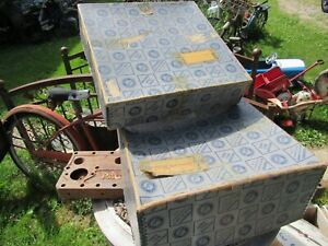 Antique Vintage Packard Motor Car Packaging Shipping Parts Box 1944 45
