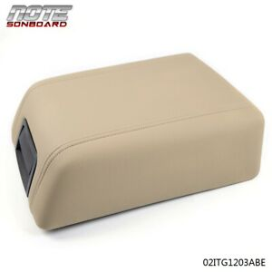 For 2004 2008 Ford F 150 Leather Center Console Arm Rest 5l3z1506024aad Beige