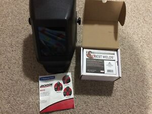 Jackson Welding Helmet Hsl100 And Cover Lens 4 1 2 X 5 1 4 50 Covers