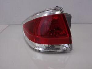 08 Ford Focus Left Driver Taillight Brake Tail Chrome Trim 8s4x 43 13b505 a Oem