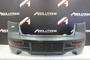 2008 2015 Mitsubishi Lancer Ralliart Rear Bumper Cover Oem