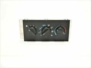 Jeep Cherokee Xj 97 98 Heater Heat Ac Climate Control Switch Cable 55037426