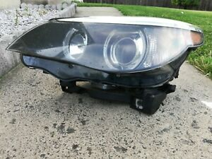 04 05 06 07 Bmw 5 Series Headlight Xenon 525i 530i 545i 550i Driver Side