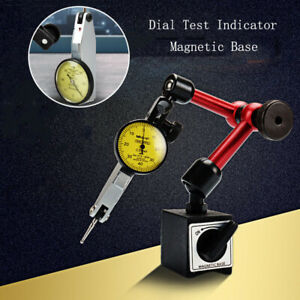 Magnetic Flexible Base Holder Stand Dial Test Indicator Gauge Scale Precision
