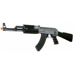Lancer Tactical Airsoft AK 47 RIS AEG Rifle w Battery and Charger $108.90
