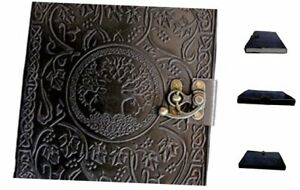Gbag t Large Tree Of Life Leather Journal Diary Notebook For Writing Leather D