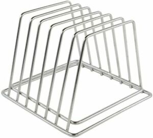 Commercial Cutting Board Organizer Stainless Steel Rack NSF No Rusting 0.75  $37.95