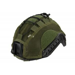 Lancer Tactical BUMP Helmet Cover Airsoft OD GREEN Medium $19.95