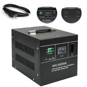 Automatic Voltage Regulator Svc 3000va Automatic Voltage Stabilizer 150 250v