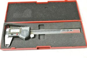 Starrett 798 Ip67 Electronic Caliper 0 6 Stainless Steel Poor Condition Works