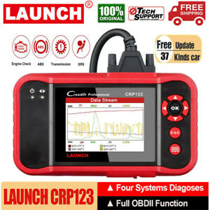 Launch Obd2 Scanner Crp123 Abs Srs Engine Transmission Car Diagnostic Scan Tool