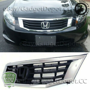 For Honda Accord 2008 2009 2010 Bumper Upper Grille Grill Replacemnet Assembly