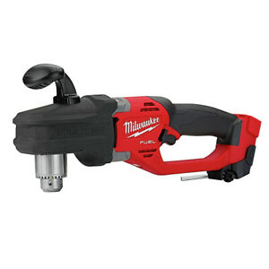 Milwaukee 2807 20 M18 Fuel Hole Hawg 1 2 In Right Angle Drill tool Only New
