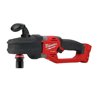 Milwaukee 2808 20 M18 Fuel Hole Hawg Right Angle Drill W 7 16 In Quik lok New