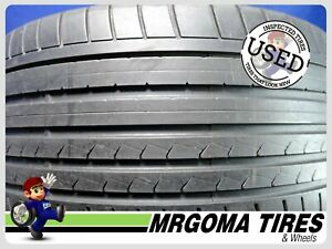 1 Dunlop Sp Sport Maxx Gt R01 Xl 275 30 21 Used Tire 67 Rmng No Patch 27530