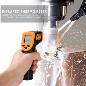 H600 Temperature Gun Non contact Digital Laser Infrared Ir Thermometer