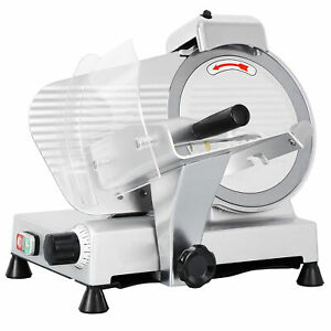 Electric Slicer Deli Meat Slicer Commercial 10 Blade 240w 530rpm Food Cheese