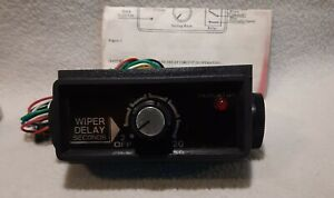Vintage Wiper Delay Switch With Instructions 2 To 20 Seconds Unused Nos