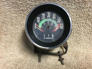 Used Ac Gm 1964 1966 Oldsmoblie 98 Starfire Console Tachometer