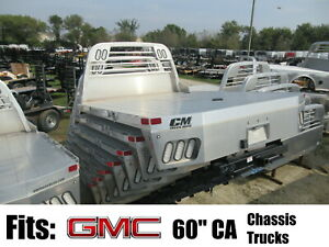 Gmc Chassis Trucks Clearance Cm Alrd Aluminum Flatbed Body For 60 Ca