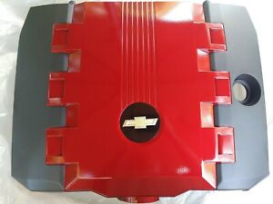 New Oem Gm Accessories 92219194 Engine Cover Kit Red Camaro V6 Llt 2000 2013