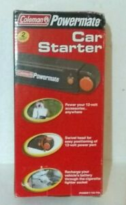 Coleman Powermate 12v Car Starter Portable Power Source Hiking Outdoors