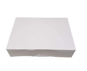 White Kraft Paperboard Auto popup 1 piece Donut Bakery Box 14 Length X 10 Widt