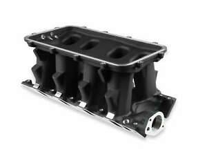 Holley Efi 300 275bk 8 2 Sbf Ford Hi ram Carbureted Manifold Base black