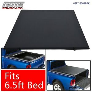 Lock Roll up Tonneau Cover 6 5ft Standard Short Bed 2014 2017 For Toyota Tundra