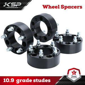 4pcs 2 5x4 5 Wheel Spacers 1 2 x20 Studs For 1983 2012 Ford Ranger
