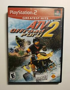 ATV Offroad Fury 2 (Sony PlayStation 2  2002) Greatest Hits Complete CIB