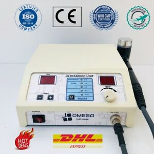 Chiropractic Ultrasound Ultrasonic Therapy Machine Omega 1 Mhz Multi Pain Relief
