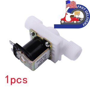 1pcs 1 2 Solenoid Electric Valve For Water Air Switch N c Normally Closed