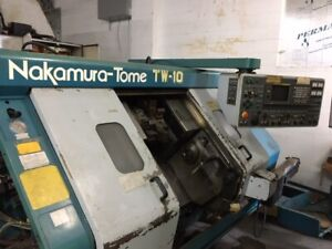 Parting Out 1998 Nakamura Tw 10 Twin Turret Sub spindle Live Tooling Lathe