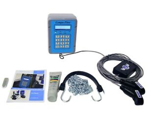 Compu flow C6 Doppler Ultrasonic Fixed Flow Meter W Rate And Total Only