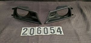10 12 Ford Mustang Front Left And Right Side Fog Light Lamp Trim Oem 206054