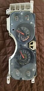 84 86 Mustang 2 3t Turbo Svo Canadian Instrument Cluster 225 Kmh 140 Mph Rare