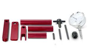 Proform 66516 Pinion Depth Setting Tool Red Anodize Aluminum Dial Indicator