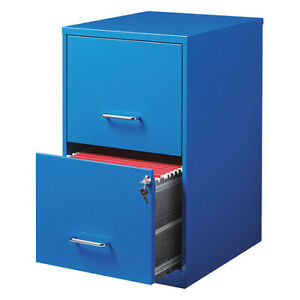 Space Solutions 20880 File smart vertical 2 Drawer 18 blue