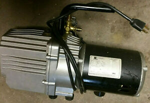Mastercool 90067 Vacuum Pump 7 5 Cfm Two Stage Emerson C55jxjft 4448 Service 1 2