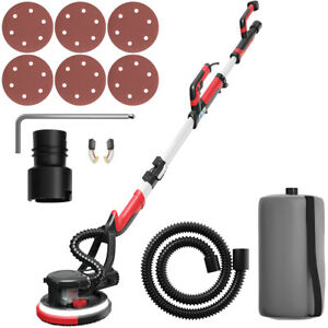 Electric Drywall Sander 750w Adjust Variable Speed W vacuum Attachment