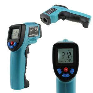 Non contact Lcd Ir Laser Infrared Digital Temperature Thermometer Gun Pyrometers